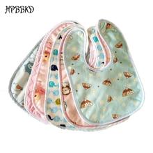 HPBBKD/Детские Непромокаемые нагрудники для новорожденных с рисунком из мультфильма; хлопковый шарф для новорожденных девочек и мальчиков; бандана; нагрудники для детей; BB095