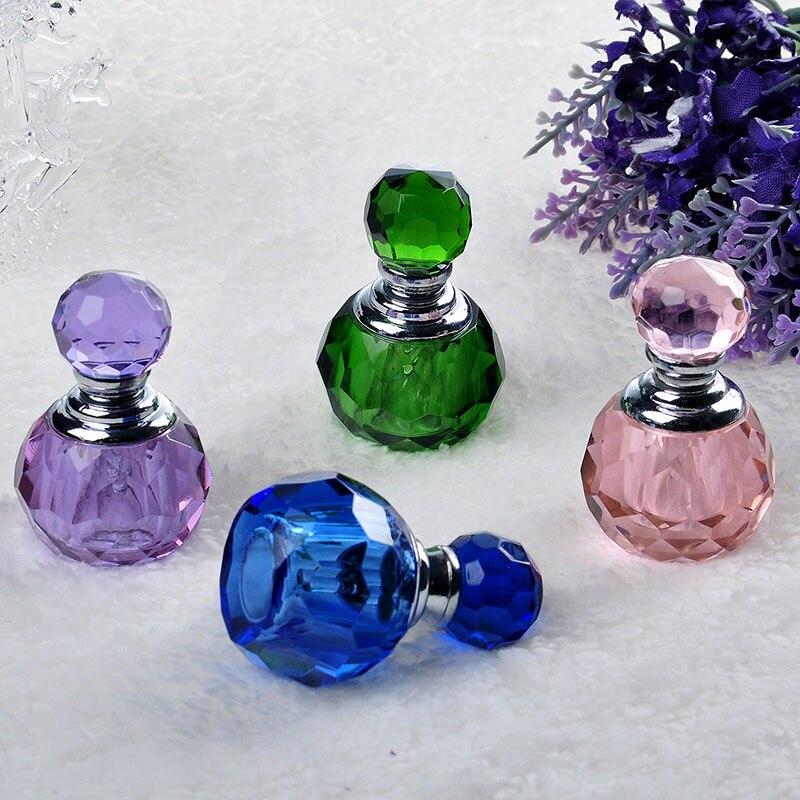 H & D K9 Verre Cristal 1 ML Mini Vide Rechargeable Bouteille De Parfum (5 Couleurs pour Choisir)