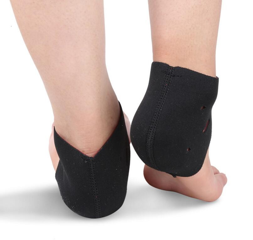 1 Par Novo salto do sapato protetor de calcanhar silicone luva protetora  aliviar a aliviar a dor no calcanhar cuidados com os pés rachaduras em  Ferramenta ... ac98f413b100c