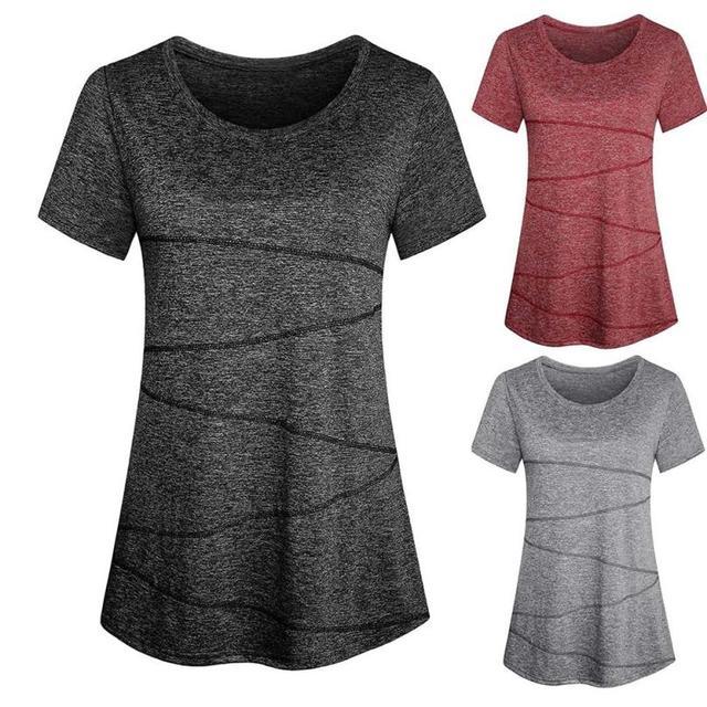 Women's Elegant Short Sleeve T-Shirt