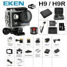Nouvelle Arrivée Faisceau D'action Caméra 100% D'origine Eken H9/H9R Ultra HD 4 K 30 M sport 2.0 «Écran 1080 p FHD aller étanche pro caméra