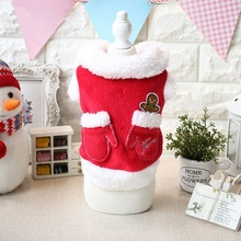50pcs Christmas Pet Dog Warm coat Clothes Puppy Winter Sweater Costume Jacket outfit apparel Xmas festival WA1397