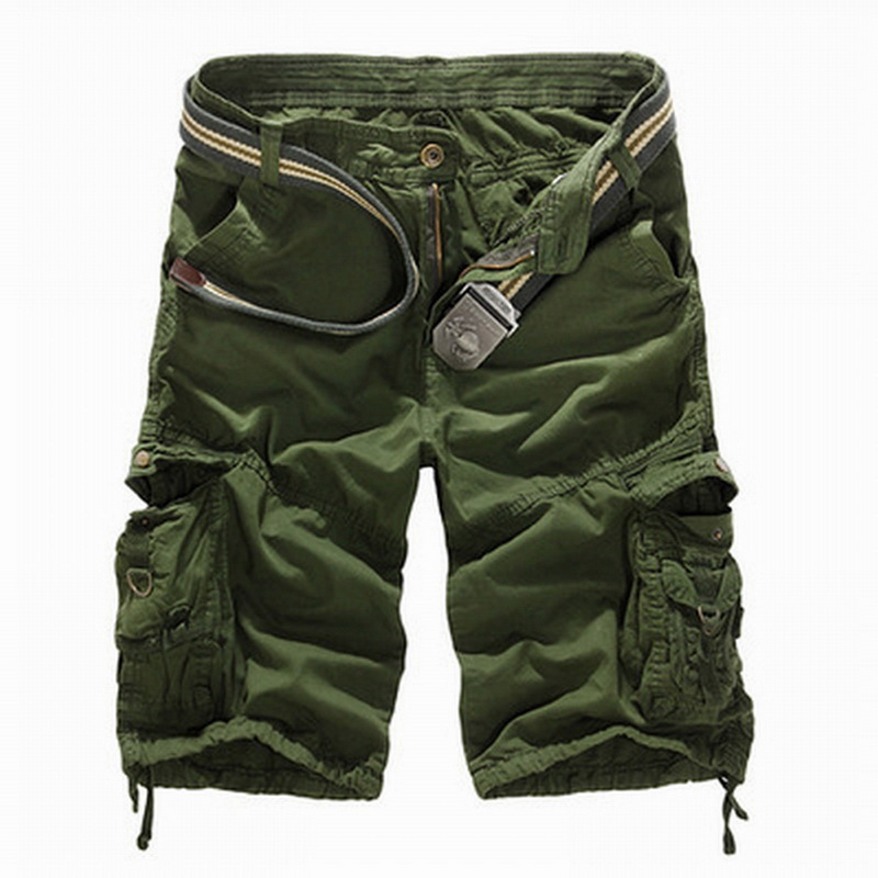Laamei 2018 New Summer Cargo Shorts Men Top Design Camouflage Military Casual Cool Shorts Homme Cotton Fashion Brand Clothing