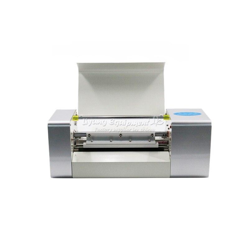 Presse à papier LY 400A 360X252MM avec 2 rouleaux de papier d'aluminium couleur or