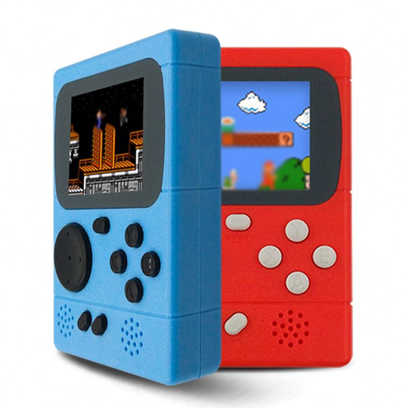Hot Selling Portable Handheld Game Console Built In 198 Non-Repeat Retro Games image