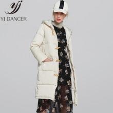 25d96490d 2018 Inverno Nova Moda das Mulheres Roupas Manter Quente de Alta Qualidade  Longa seção terno Bolha Casaco de roupas de Algodão d.