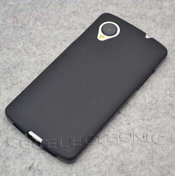 Nuevo TPU mate Gel piel cubierta suave para LG Google Nexus 5 E980 funda trasera de silicona