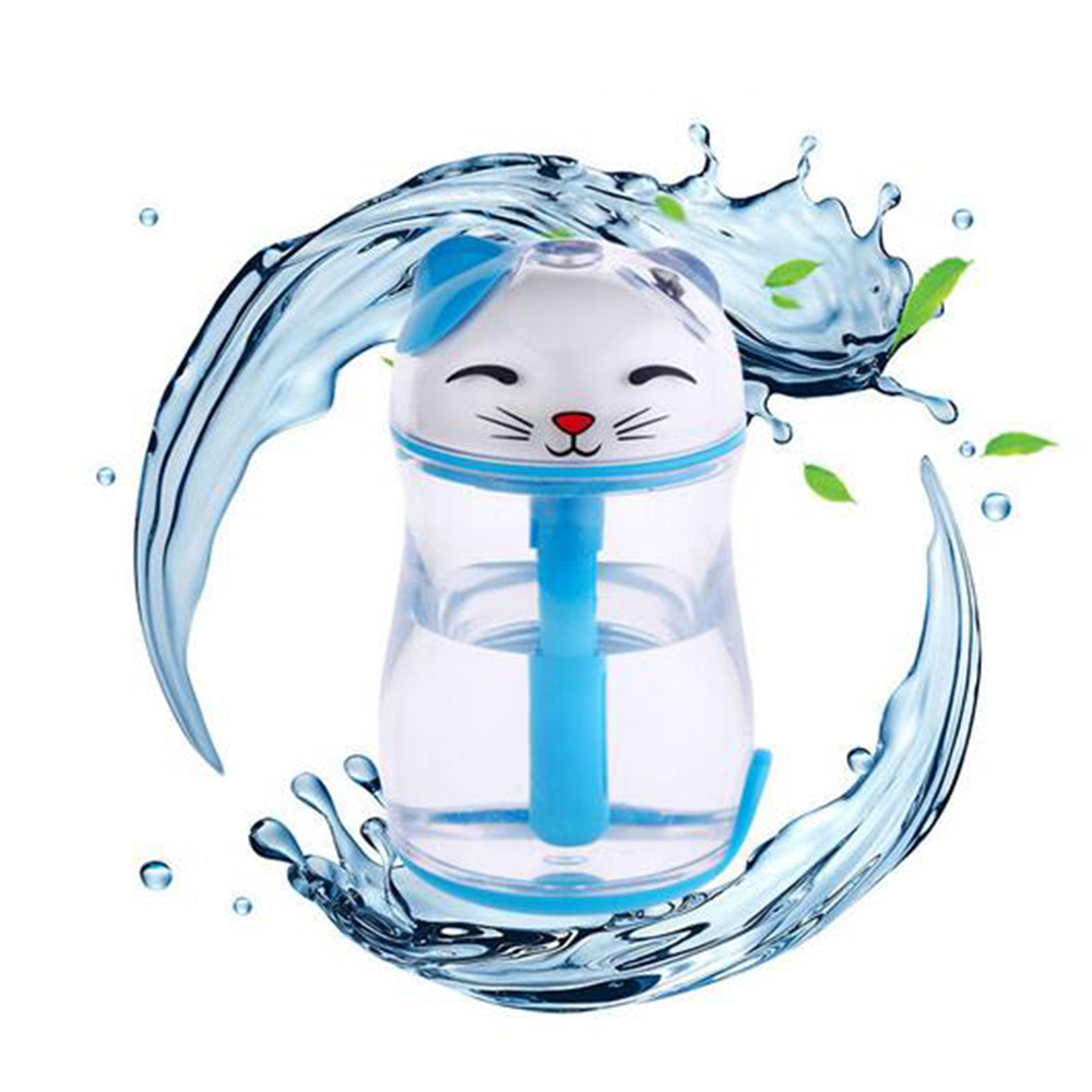 Lucky Cat Forme Mini Air Humidificateur Bureau USB Huile Essentielle - Appareils ménagers - Photo 1