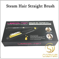 Newest LESCOLTON Steam Hair Straightening And Curling Iron 2 In 1 Steam Straightener Ceramic Fast Iron
