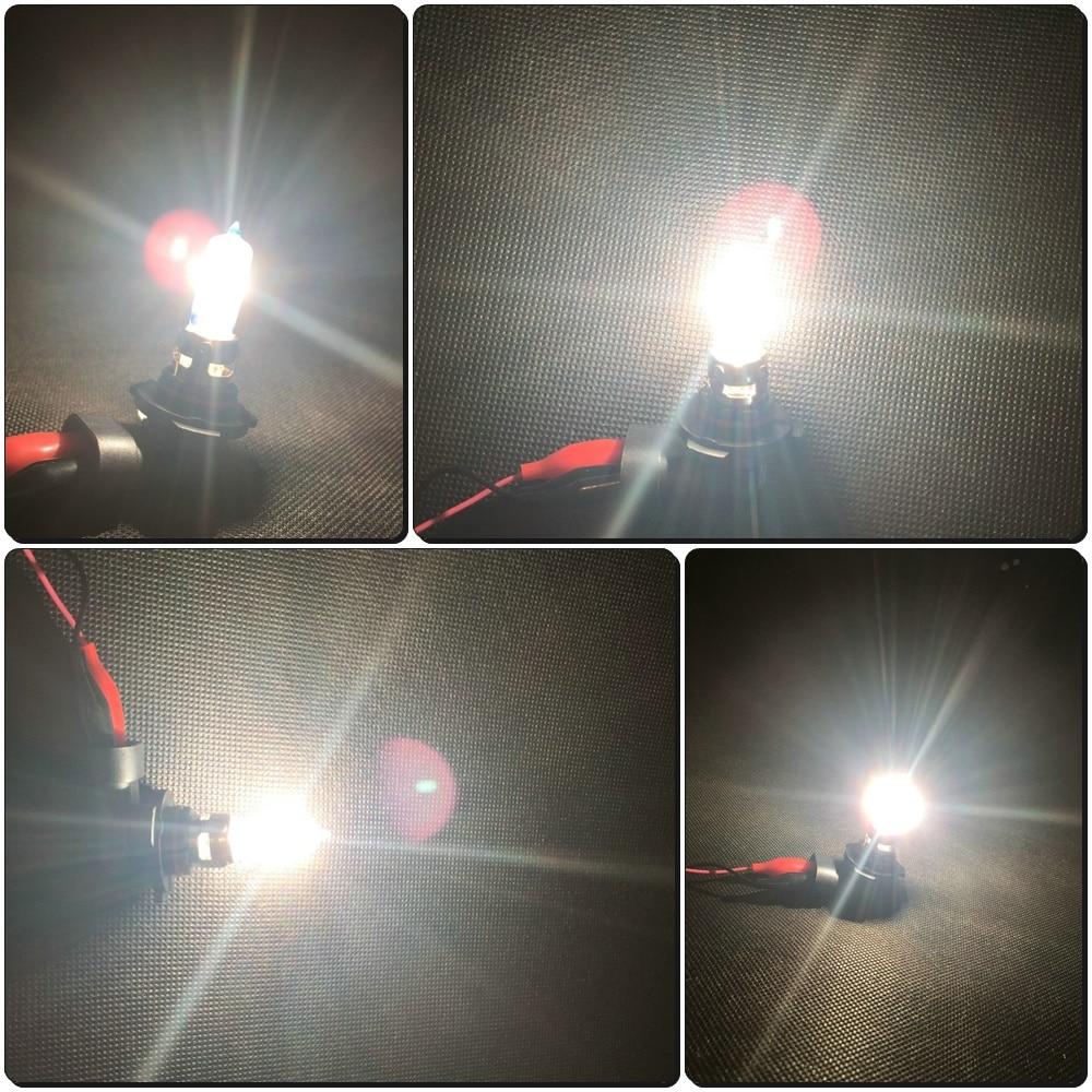Toyota Land Cruiser 150 HB3 100w Super White Xenon HID High Beam Headlight Bulbs