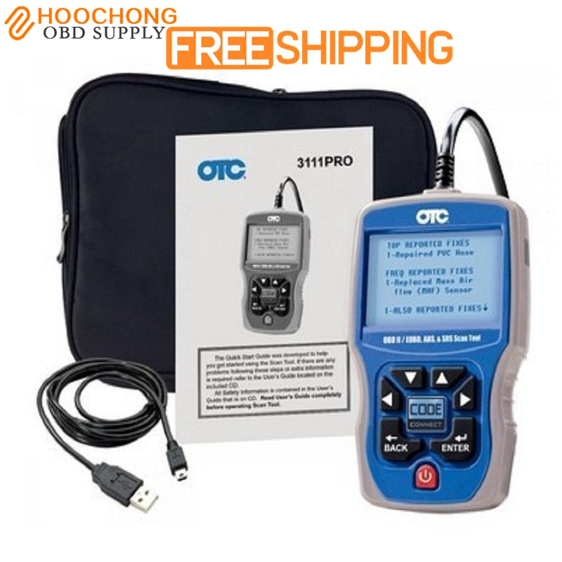 New OTC 3111 pro OBDII/CAN/ABS/Airbag(SRS) OTC Scan Tool OBD2 EOBD Code Reader OTC SCANNER 2pc lot free shipping vgate vs450 for vag obdii obd 2 code reader car diagnostic tool vs 450 reset airbag abs can scanner
