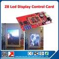 Китайский производитель Z8 из светодиодов управления для видео из светодиодов дисплей вывеска 128 * 512 пикселей асинхронный из светодиодов знак платы управления