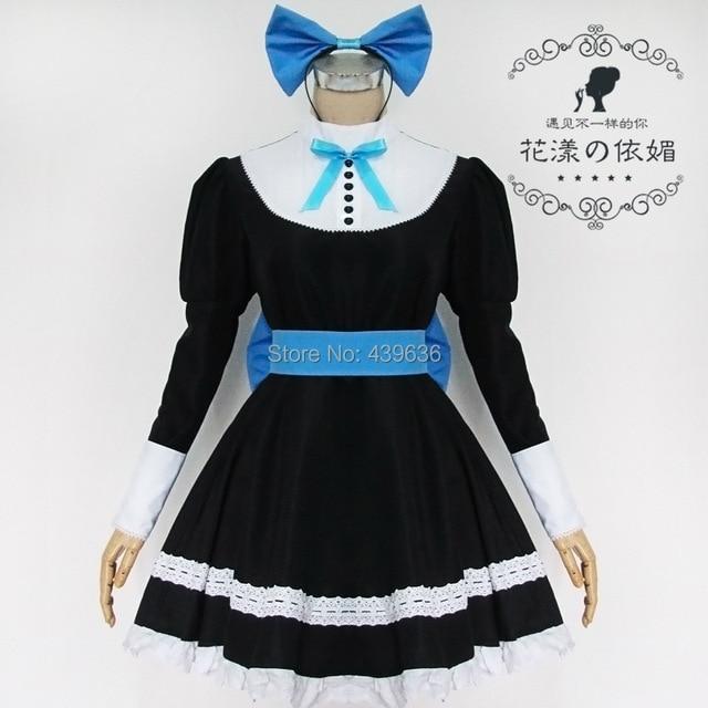 1a753824135 Panty   Stocking with Garterbelt Dress anime Cosplay Costume women grils  Clothing skirt+headdress+stockings+garter belt Uniform
