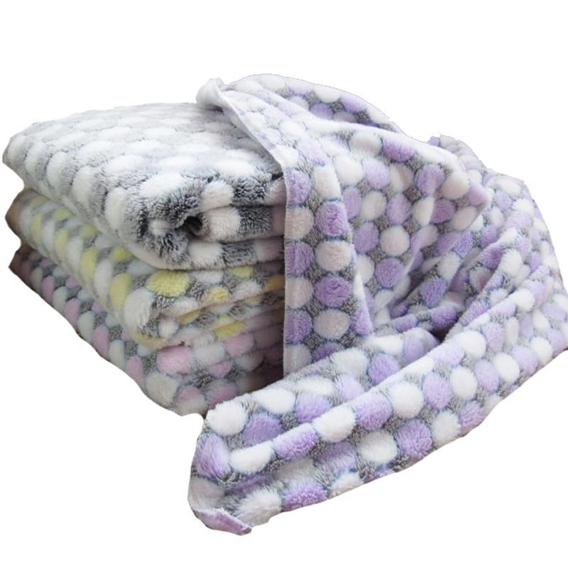3 tamaño de la manta de perro de lana suave impresión de punto de - Productos animales - foto 3
