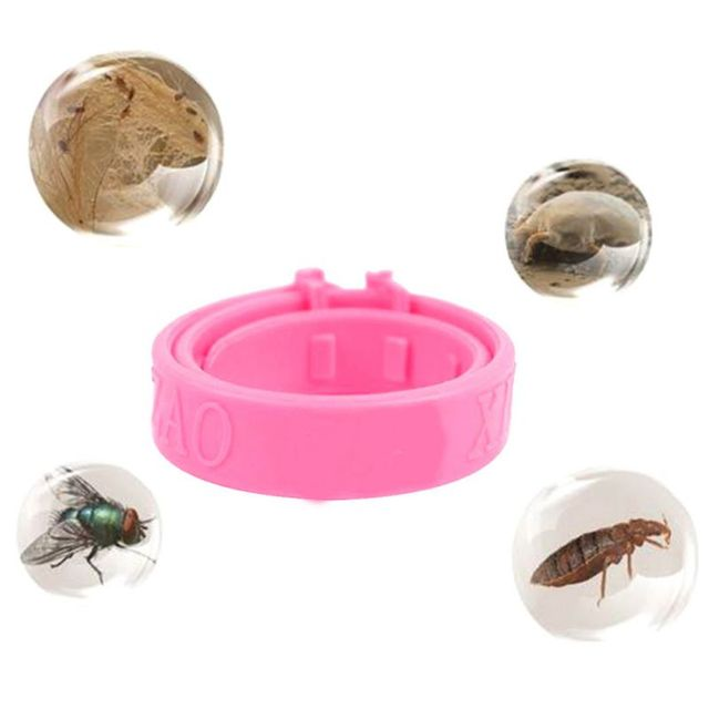 Silicone Guard Flea and Tick Cat and Kitten Collar Pink Calming Collar for Pets Dogs Cats Supplies Dog Harnesses Dog Suppliers