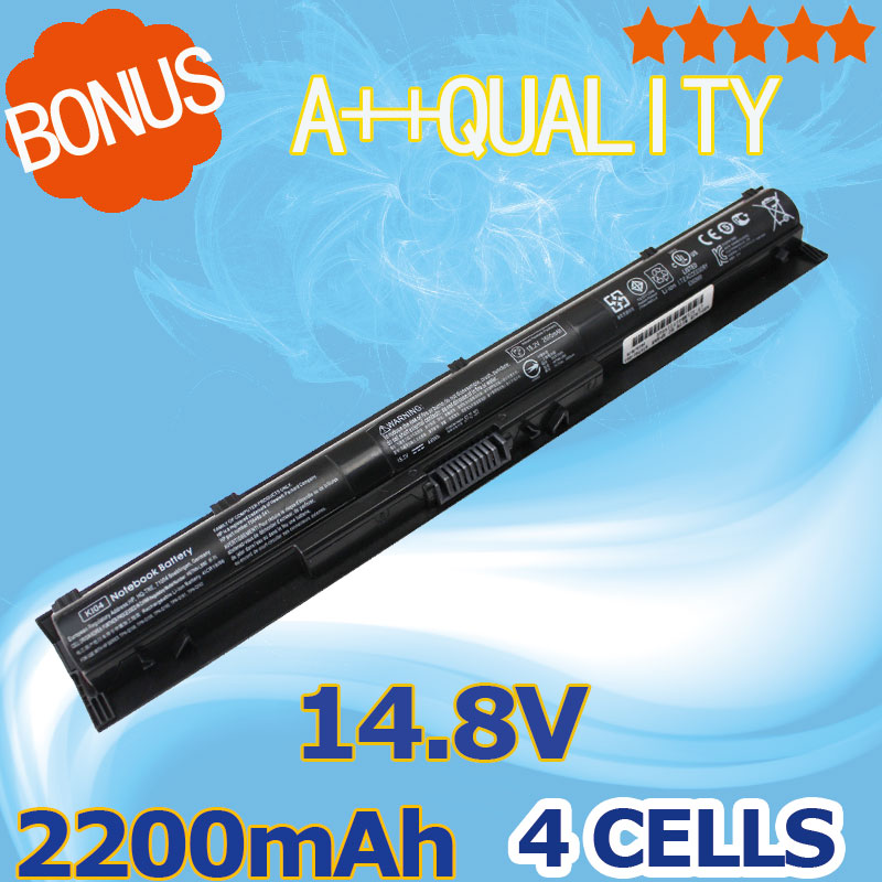 2200mAh 14.8V Laptop Battery For HP Pavilion KI04 HSTNN-DB6T HSTNN-LB6S TPN-Q158 800009-241 14-ab011TX 15-ab038TX 15-ab024NE