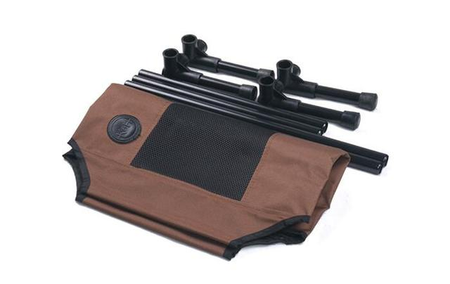 Outdoor Raised Dog Bed With Optional Sun Shade