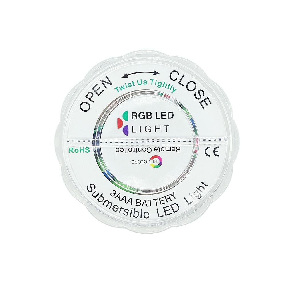 4 pc lampada subaquatica ip68 a prova dip68 agua multi cor operado pilhas controle remoto fio 10 led luzes banheira hidromassagem 02