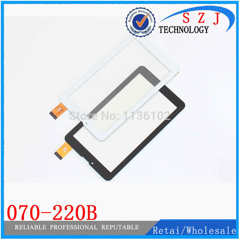 New 7'' inch 070-220B touch screen external screen handwriting capacitive touch panel for tablet PC Free shipping 10Pcs/lot 50 pcs micro usb type b female socket 180 degree 5 pin smd smt jack connector