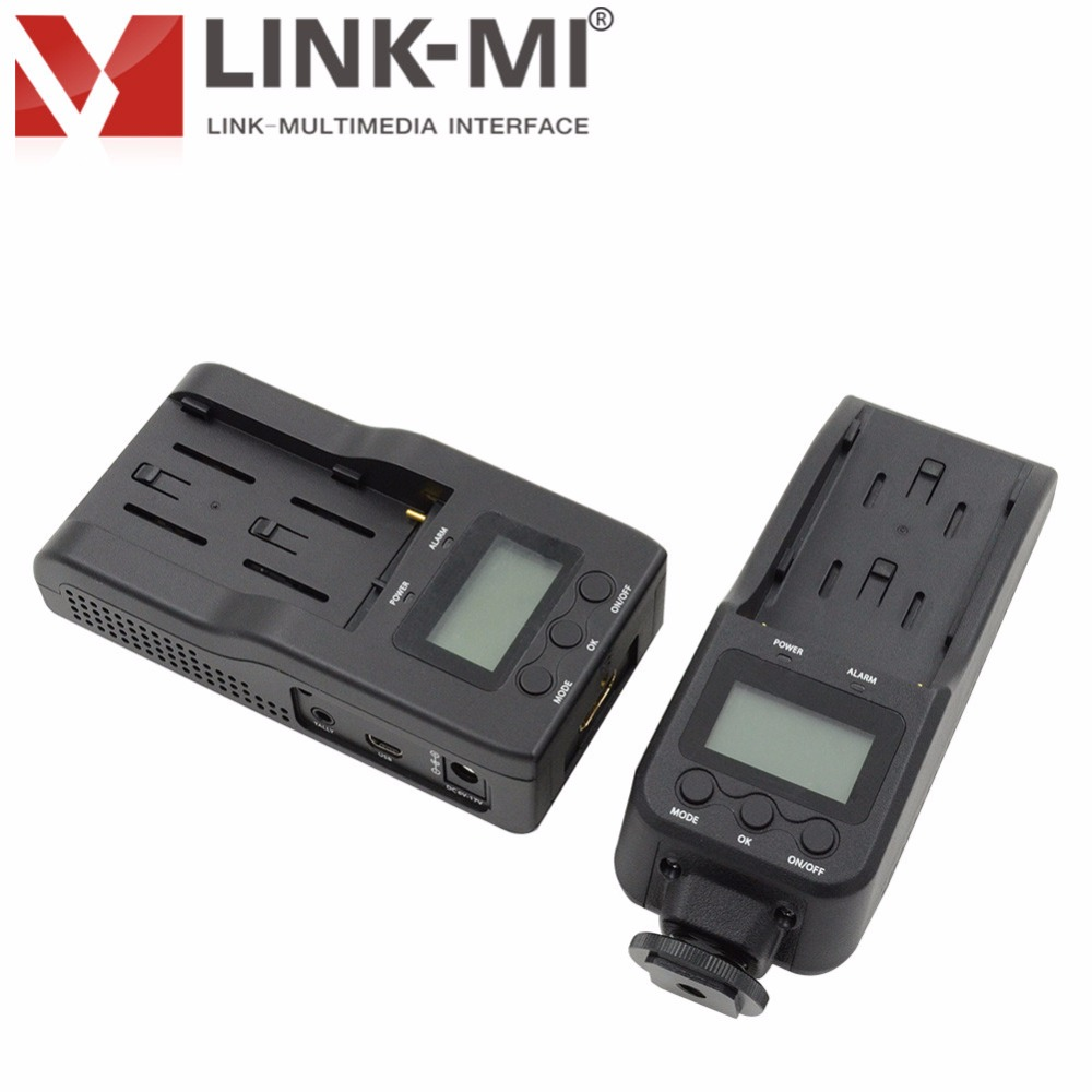 LINK-MI LM-WHD100C WHDI 100 m HDMI HD de Transmissão de Vídeo Sem Fio Para DVR 330ft/100 m