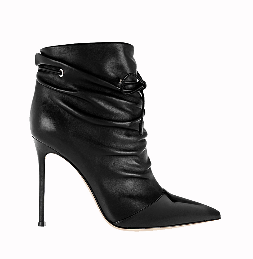 ФОТО Ladies Boots 2017 New Autumn Casual Pointede Toe Lace-Up Ankle Boots For Women Plus Size Custom Stiletto Heel Shoes US 4-15.5