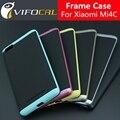 Para xiaomi mi4c case tpu híbrido de silicio + pc de doble capa marco contraportada protectora case para xiaomi mi4i mi 4c 4i móvil teléfono