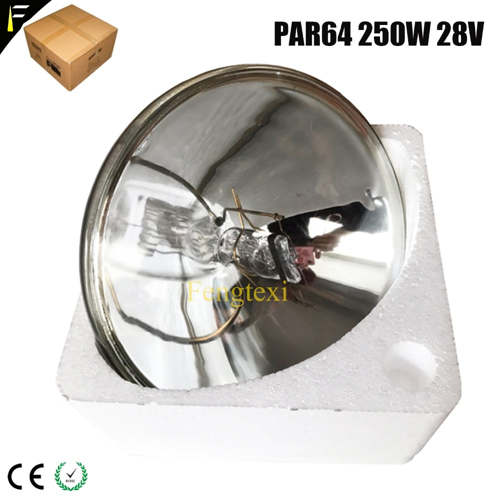 Traditional Par Lamp Par64 28V 250W AC Lamp CP60 For Par Light PAR 64 ACL Lamp VNSP (Very Narrow Spot) 250 Watts