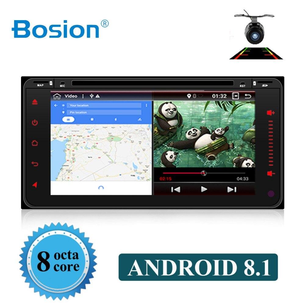 Bosion 2 din Android 8.1 autoradio gps pour Toyota vieille Corolla radio universelle wifi BT DAB + capacitif 6.2 pouces lecteur DVD de voiture