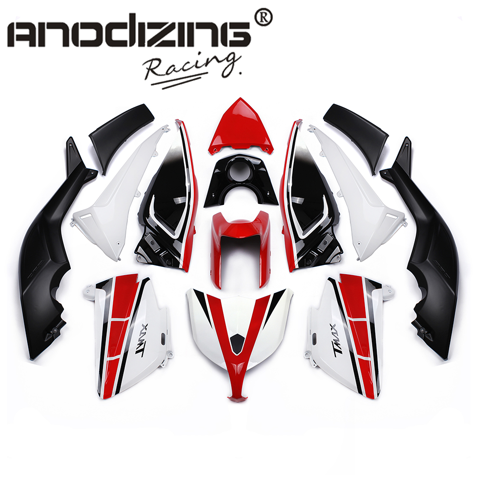 Plastic ABS Injection Motorcycle Fairing Kit Bodywork Cowlings FOR YAMAHA TMAX 2012-2014 for yamaha tmax530 2012 2014 plastic abs injection motorcycle fairing kit bodywork cowlings