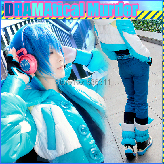 halloween costumes for adult Dramatical Murder dmmd aoba seragaki cosplay costume Seragaki Aoba cosplay jacket outfit