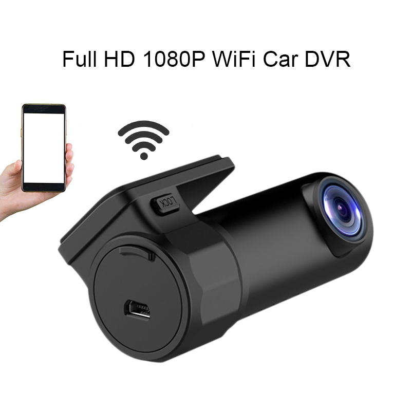 Full HD 1080P WiFi Car DVR Vehicle Camera Dash Cam Night Vision Wide Angle Video Recorder G-Sensor for IOS Android Smartphones стоимость