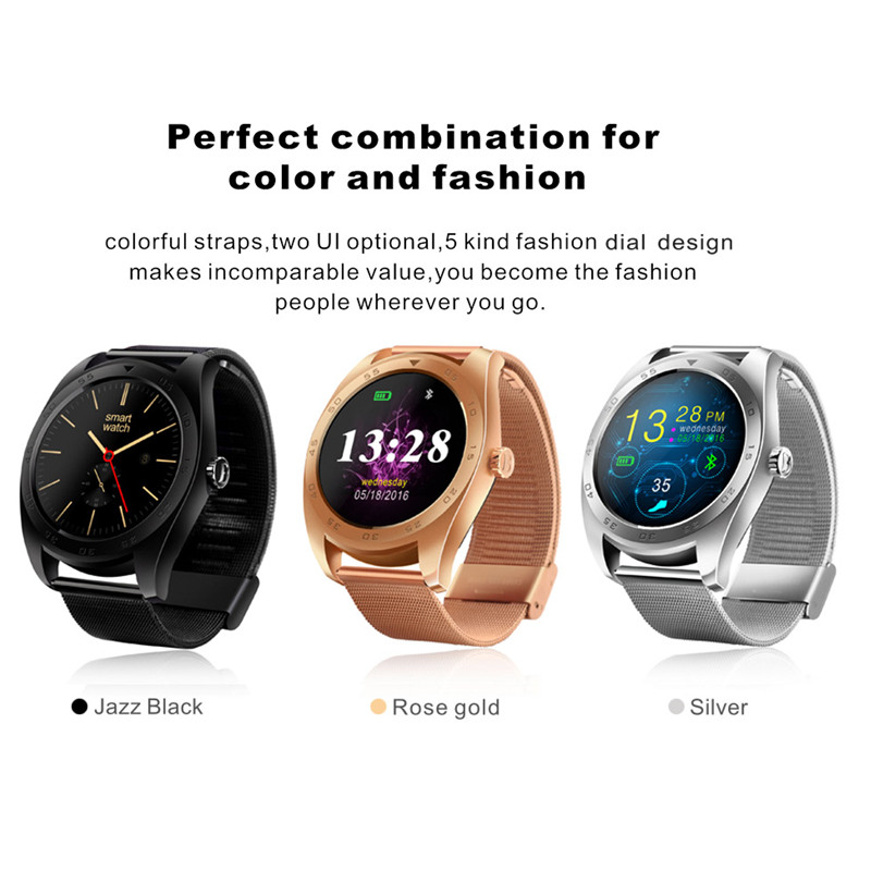 hot K89 Smart Watch 1.22inch IPS Round Screen Smartwatch Heart Rate Monitor Bluetooth Watch for iphone IOS Android Smartphones lemado k88 update k88h smart watch with ips screen heart rate monitor bluetooth smartwatch for android xiaomi apple ios phone