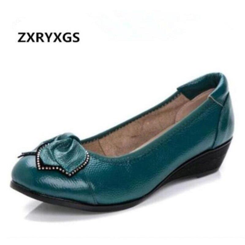 Noir Chaussures Doux Femmes Taille Plates green Strass Casual Grande Gray silver En Confortable apricot Vraiment Cuir red Marque blue Nouveau Zxryxgs 2018 wxzBqZCC