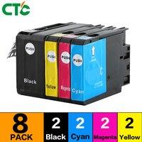 8PCS Ink Compatibl For HP950 950XL 951 951XL Ink Cartridge Officejet Pro 8600 8100 8610 8620