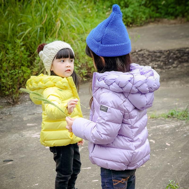 Fashion Girl's Duck Down Қожа Қожа Қапшықтар - Балалар киімі - фото 6