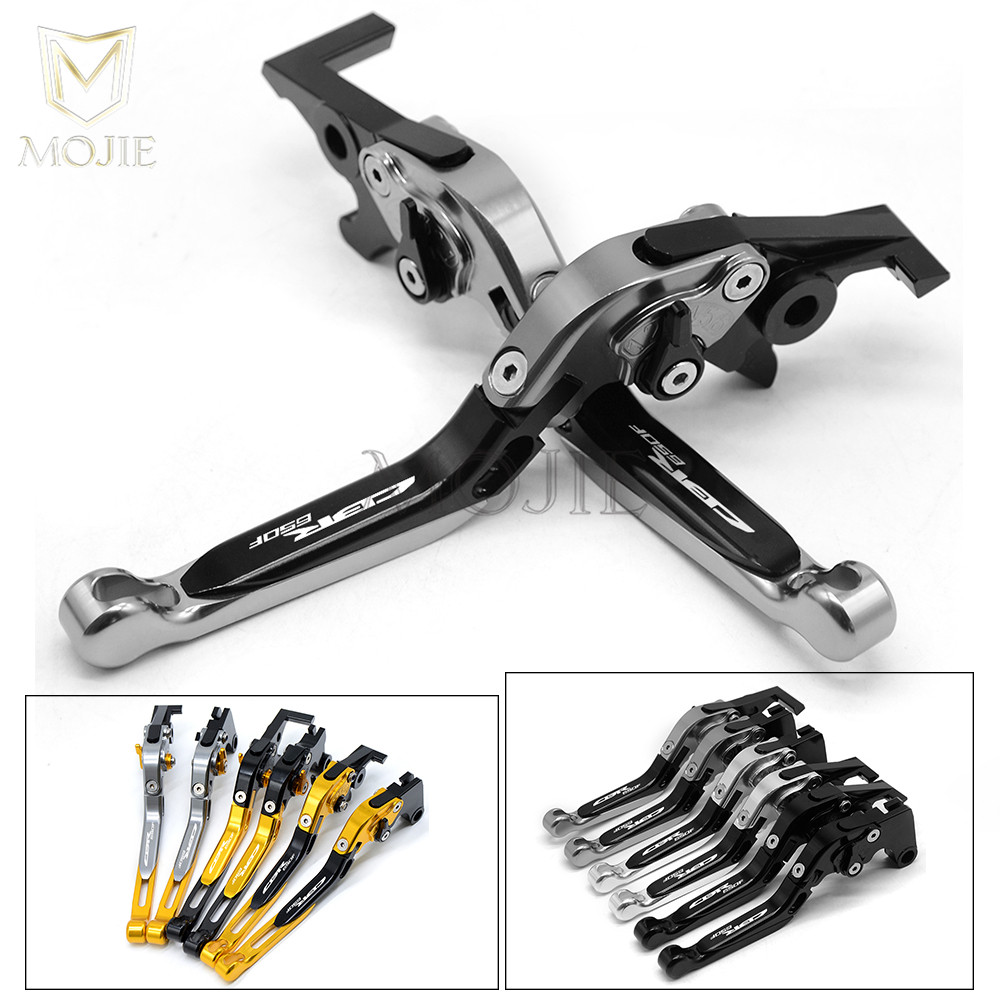 Adjustable Folding Extendable Motorcycle Accessories Brake Clutch Levers For Honda CBR650F CBR 650F CBR 650 F