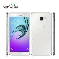 Оригинальный Samsung Galaxy A7 2016 5,5 3 ГБ оперативной памяти 16 ГБ rom 13MP 3300 мАч 4G LTE Octa core отпечатков пальцев Dual Sim смартфон