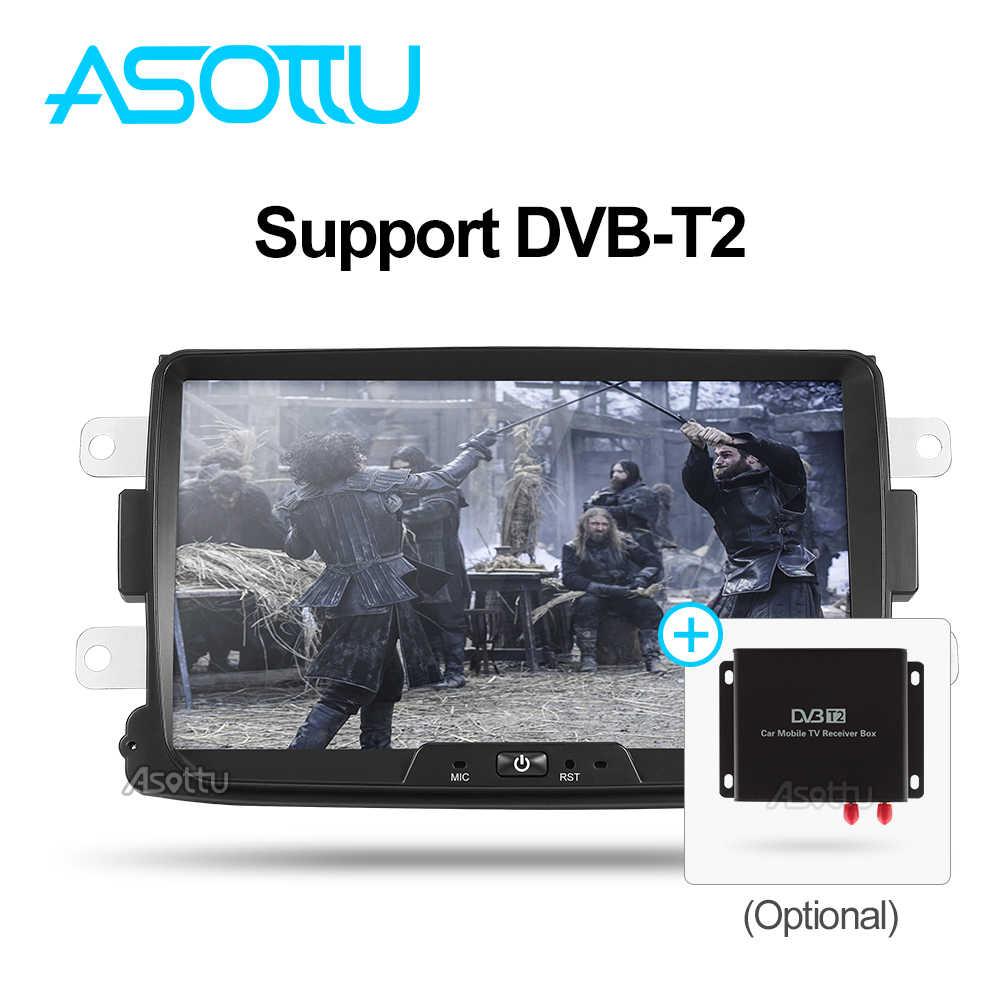 Asottu CDXY8071 2G + 32G android car dvd para Renault Duster Dacia Sandero Captur Lada Xray 2 Logan 2 reproductor gps de navegación gps para coche