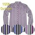 Alta calidad de pana de algodón camisa a rayas para hombre Casual Shirt Mens camisas de vestir para hombre informal de manga larga ropa para hombres