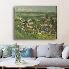 Pastoral Scenery by Paul Cezanne Wall Art Canvas Painting Calligraphy Poster Print Decorative Picture for Living Room Home Decor catherine m harris polaroids get yellow poems by catherine m harris book 1