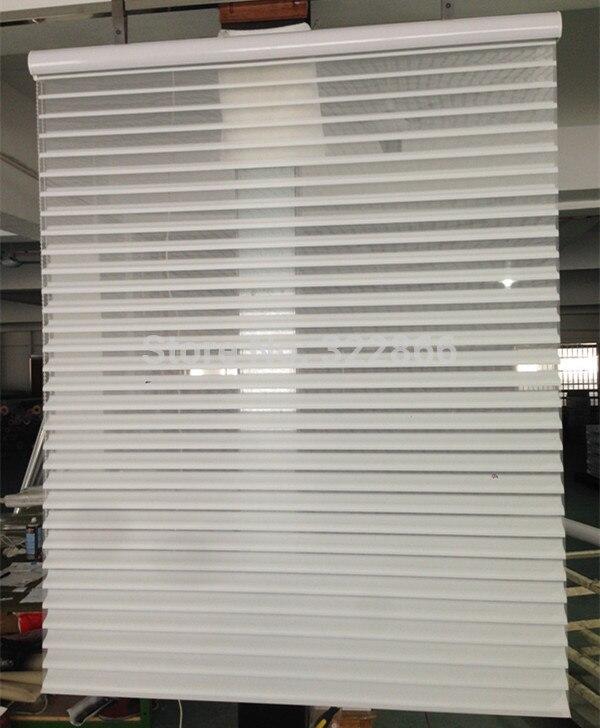 Free shipping Shangri La blinds sheer horizontal window shading tilt lift customized size