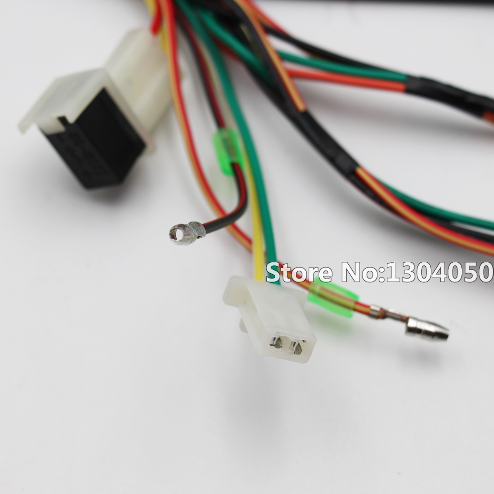 hight resolution of other motorcycle parts wire wiring harness loom yamaha pw50 py50 peewee 50 pit pro trail dirt bike
