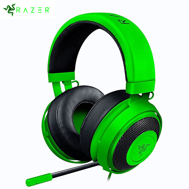d3deb8caf6d Original Razer Kraken Pro V2 Wired Gaming Headphone Custom Tuned Drivers  Fully-retractable microphone in-line remote Headphone