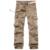 Envío gratis 2017 nuevos hombres de la moda de alta calidad de algodón para hombre pantalones cargo pantalones militares del ejército, más tamaño 60hfx