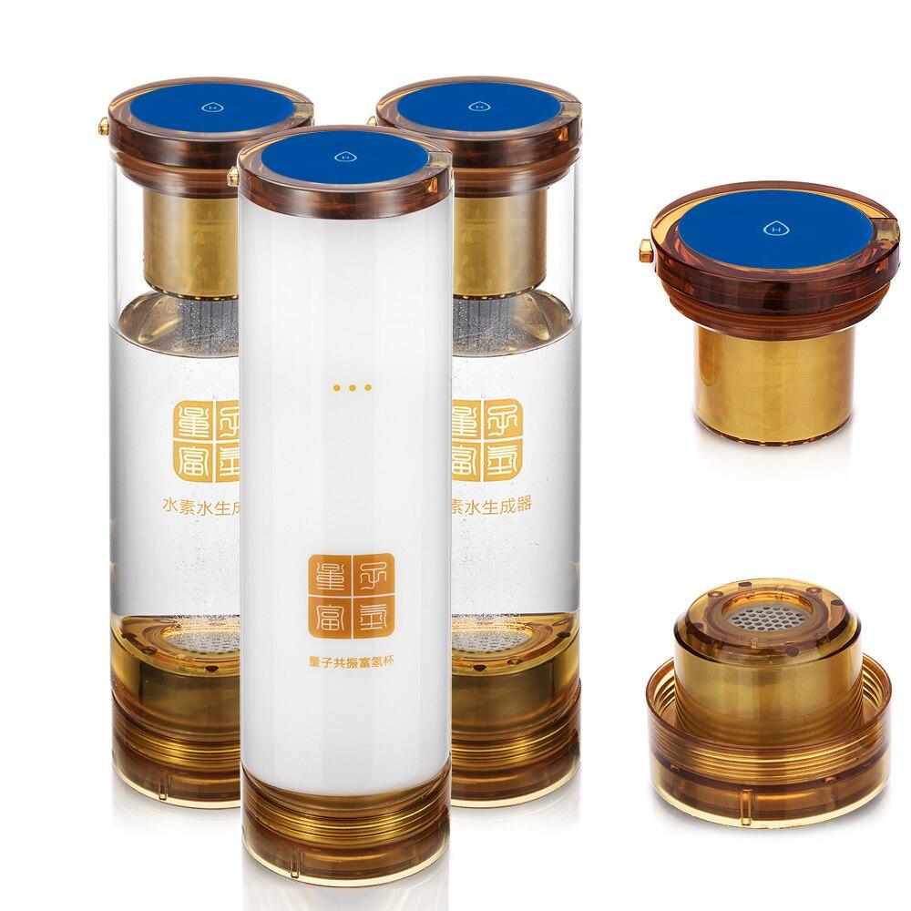 water ionizer Hydrogen generator and  MRETOH 7.8HZ water bottle Help to treat Hypertension Hyperlipemia Hyperglycemia