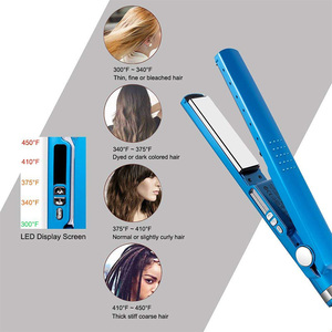 Image 5 - CHJPRO Professional Hair Straighteners Nano Titanium Plates hair Straightener Curler Chapinha Flat Iron Salon Hair Iron Styler