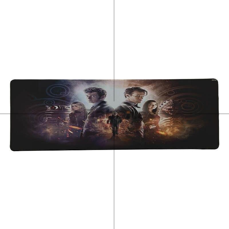 Dr Who Tardis Doctor TV Art Rubber anti-slip PC laptop Gaming mouse mat pad