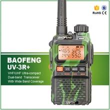 Hot Sell Camouflage Mini Baofeng UV-3R+ Walkie Talkie VHF UHF Handheld Mini Two Way Radio UV-3R+