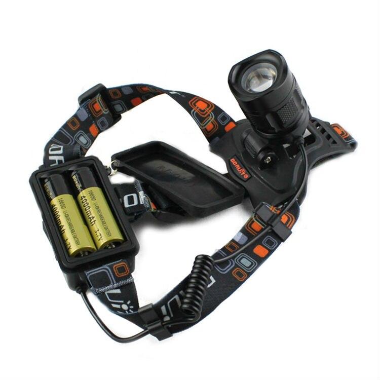 Boruit RJ-2157 headlamp headlight led flashlight head (7)