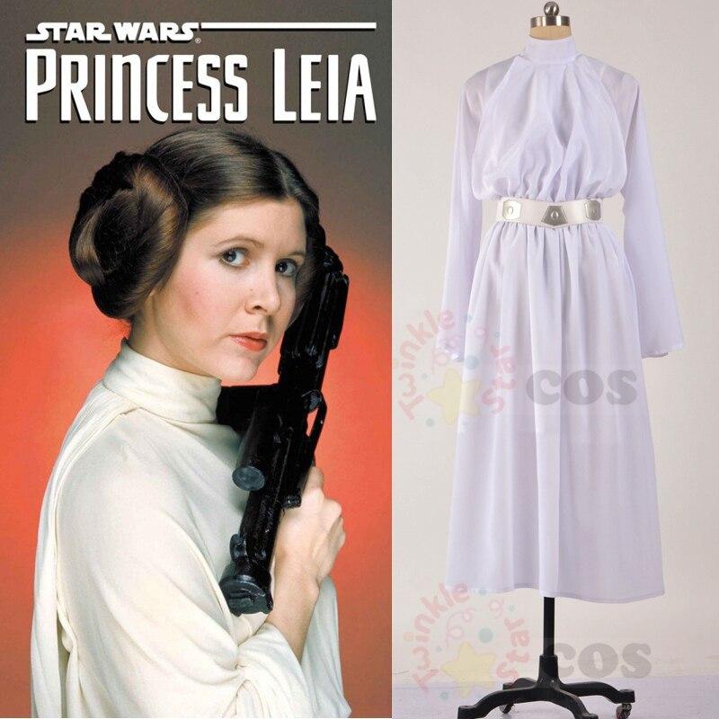 Princess leia white dress pictures